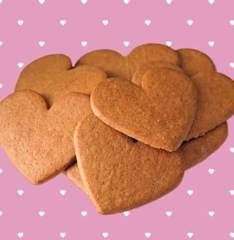 מתכון עוגיות לב