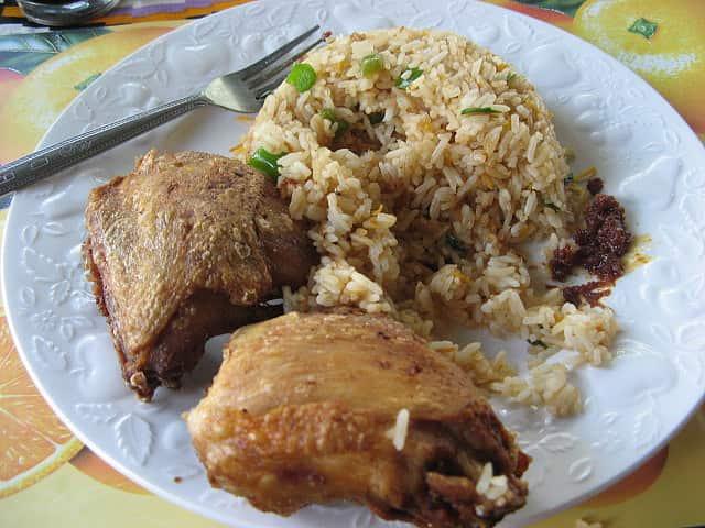 כרעיים עוף בתנור עם אורז
