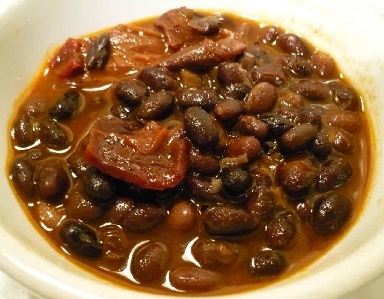 שעועית שחורה מתכון מקסיקני